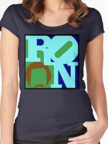 Ron Love (b) (Anchorman) Women's Fitted Scoop T-Shirt