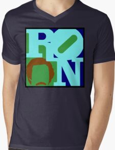 Ron Love (b) (Anchorman) Mens V-Neck T-Shirt