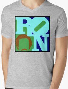 Ron Love (b) (Anchorman) Mens V-Neck T-Shirt