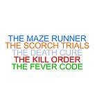 """The Maze Runner"" Series by Mandy Huibregtsen"