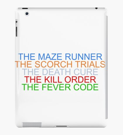 """The Maze Runner"" Series iPad Case/Skin"
