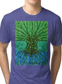 Green Tree Tri-blend T-Shirt