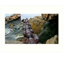Rusty Chain, Outer Harbour  Art Print