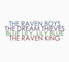 The Raven Cycle by Mandy Huibregtsen