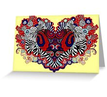 Bandana Heart Greeting Card