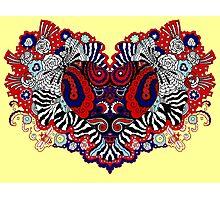 Bandana Heart Photographic Print