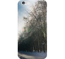 winter road iPhone Case/Skin