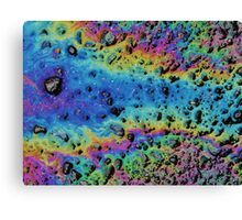 Oil Abstract Canvas Print