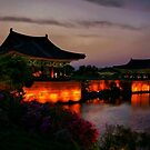 Imhaejeonji Evening by Barbara  Brown
