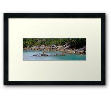 Bedarra Island Dorillor Bay  Framed Print
