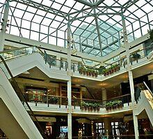 Pioneer Mall - Interior - Portland, Oregon  by Jack McCabe