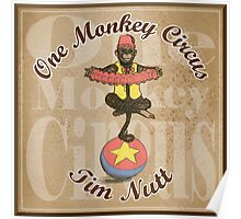 One Monkey Circus Poster
