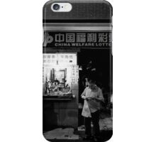 The lucky box and dark hole - Shanghai, China iPhone Case/Skin