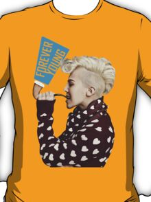 GDragon Pipe Forever Young  T-Shirt