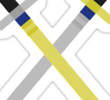 Keyblades Cross Pixel Sticker