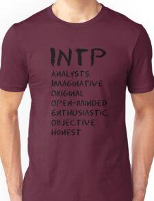INTP (Black letters) Unisex T-Shirt