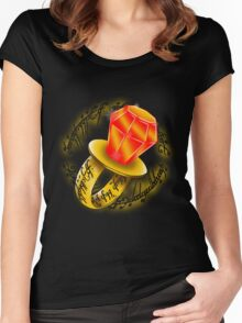 Lord of the Ring Pops Women's Fitted Scoop T-Shirt
