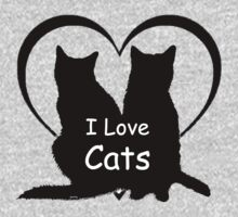 I love Cats by gretzky