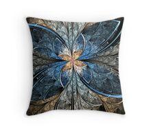 Elliptic Butterfly Throw Pillow