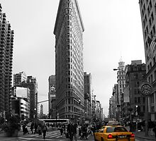 Flatiron Building - NYC by Mark Van Scyoc