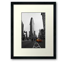 Flatiron Building - NYC Framed Print