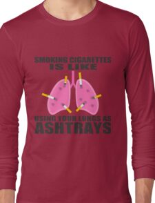 Ashtray lungs Long Sleeve T-Shirt
