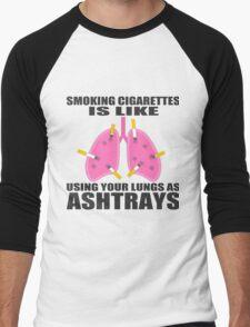 Ashtray lungs Men's Baseball ¾ T-Shirt
