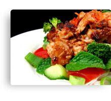 Spicy Vietnamese Chicken Salad Canvas Print