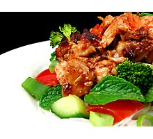 Spicy Vietnamese Chicken Salad Photographic Print