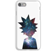 Rick and Morty Galaxy Design iPhone Case/Skin