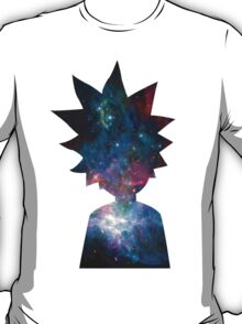 Rick and Morty Galaxy Design T-Shirt