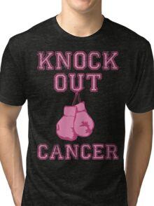 Knock Out Breast Cancer Tri-blend T-Shirt