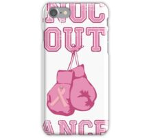 Knock Out Breast Cancer iPhone Case/Skin