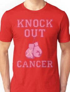 Knock Out Breast Cancer Unisex T-Shirt