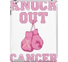 Knock Out Breast Cancer iPad Case/Skin