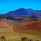 Landscape inside Haleakala National Park - Maui, Hawaii by Bruno Beach