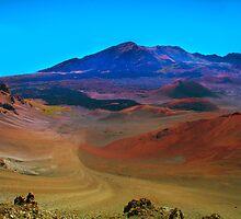 Landscape inside Haleakala National Park - Maui, Hawaii by Atanas Bozhikov NASKO