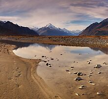 Tasman Valley - New Zealand by Mark Shean