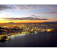 Rio de Janeiro after sunset Photographic Print