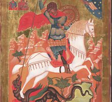 Saint George and the Dragon by vimasi