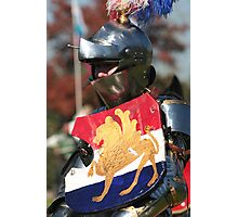 Knight in Shining Armour Photographic Print