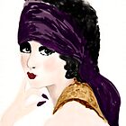 Barbara La Marr by Trish Loader
