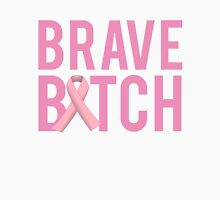 Brave Bitch Breast Cancer Fight Survive Unisex T-Shirt