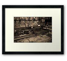 Workshop Framed Print