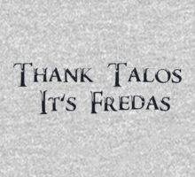 Thank Talos it's Fredas One Piece - Long Sleeve