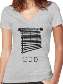 OCD Women's Fitted V-Neck T-Shirt