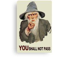 Uncle Gandalf Canvas Print