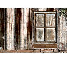 Corrugated Wall Photographic Print