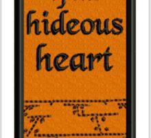 Poe's Tell-tale Heart Sticker