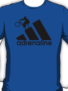Mountain Biker - Trials - adrenaline - adidas parody T-Shirt
